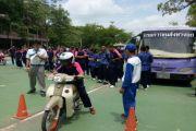 โครงการสำนักงานขนส่งสาขาเคลื่อนที่เพื่อความปลอดภัยในการใช้รถใช้ถนนในกลุ่มจังหวัดเพชรบุรี